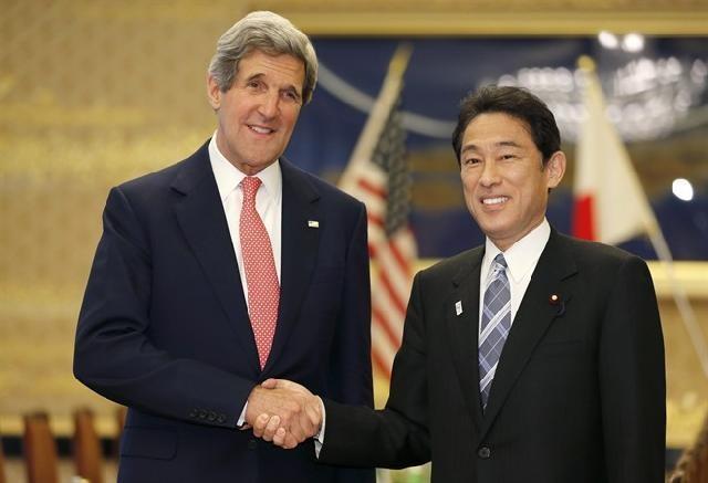 Mỹ cam kết bảo vệ Nhật Bản trong tranh chấp với Trung Quốc và Triều Tiên ảnh 1