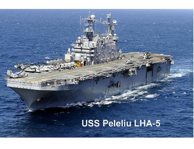 Ba tàu đổ bộ Hải quân Mỹ thăm Hong Kong - Trung Quốc ảnh 1