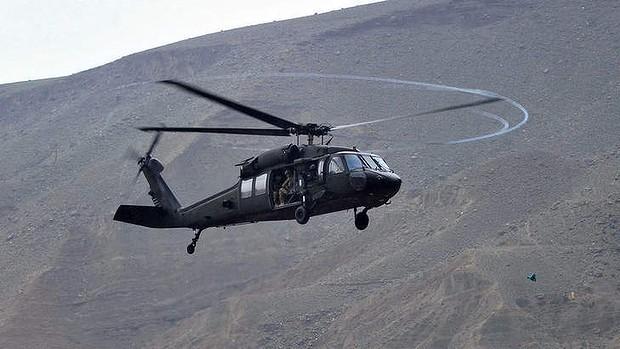 """""""Ó đen"""" U-60 của Mỹ bổ nhào sát biên giới Triều Tiên ảnh 1"""