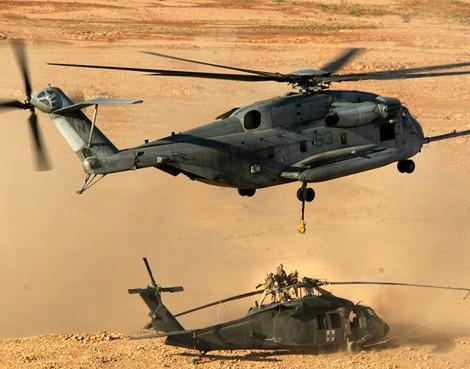 """""""Thần tượng"""" trực thăng CH-53E Mỹ sụp đổ trên bán đảo Triều Tiên ảnh 2"""