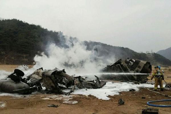 """""""Thần tượng"""" trực thăng CH-53E Mỹ sụp đổ trên bán đảo Triều Tiên ảnh 3"""