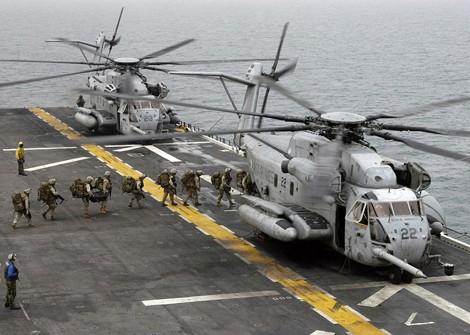 """""""Thần tượng"""" trực thăng CH-53E Mỹ sụp đổ trên bán đảo Triều Tiên ảnh 1"""