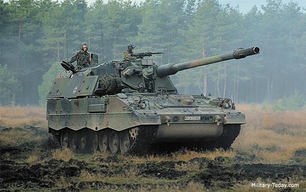 Sau Mỹ, Đức ồ ạt bán xe tăng, pháo tự hành sang Trung Đông ảnh 2