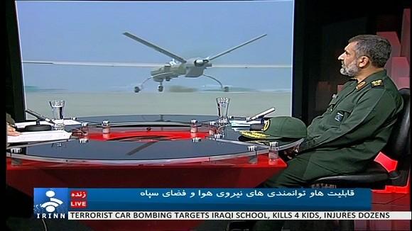 Iran gây chấn động với UCAV siêu mạnh Shahed 129 ảnh 1