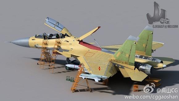 """Trung Quốc phát triển J-15S để """"tiếp dầu trên không""""? ảnh 1"""