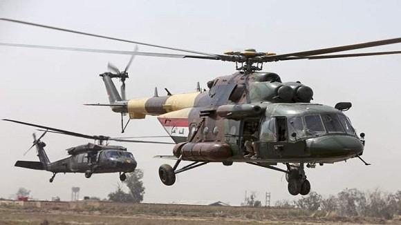 Quân nổi dậy bắn hạ trực thăng Iraq, 4 phi công thiệt mạng ảnh 1