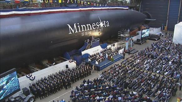 Uy lực cực mạnh của tàu ngầm hạt nhân lớp Virginia của Mỹ ảnh 1