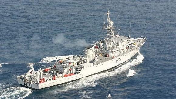 Ấn Độ mua 8 tàu quét lôi của Hàn Quốc ảnh 1