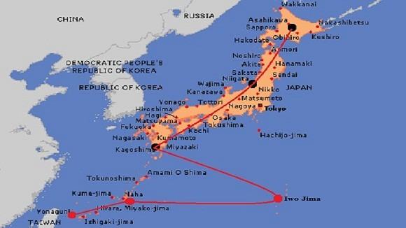 """Nhật sẽ """"chẹn cổ"""" hải quân Trung Quốc ở Iwo Jima ảnh 2"""