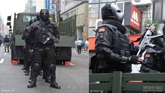 """Mặt nạ chống đạn kiểu """"ác quỷ"""" của đặc nhiệm Đài Loan ảnh 5"""