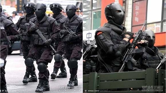 """Mặt nạ chống đạn kiểu """"ác quỷ"""" của đặc nhiệm Đài Loan ảnh 1"""