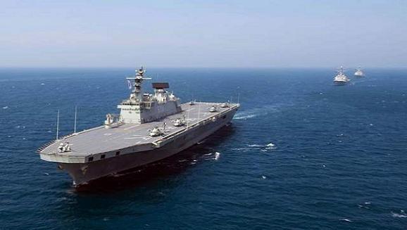 Hàn Quốc nỗ lực chạy đua tàu sân bay với Trung-Nhật ảnh 1