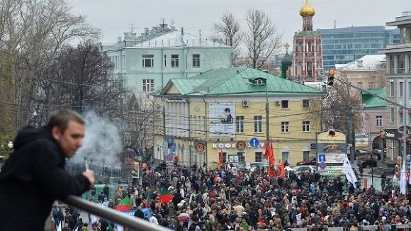 Nga: Biểu tình cực lớn phản đối Tổng thống Putin ảnh 1