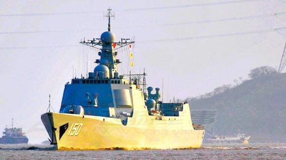 """Lộ diện khu trục hạm """"Aegis Trung Hoa"""" thứ 4 ảnh 2"""