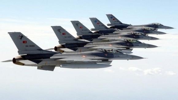 """6 chiếc F-16 Thổ Nhĩ Kỳ """"săn"""" 2 máy bay Nga và Syria ảnh 1"""
