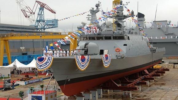 Hải quân Hàn Quốc nhận tàu tuần tra tên lửa thứ 12 ảnh 1