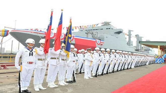 """Đài Loan hạ thủy """"hàng khủng"""" hơn 2 vạn tấn ảnh 1"""