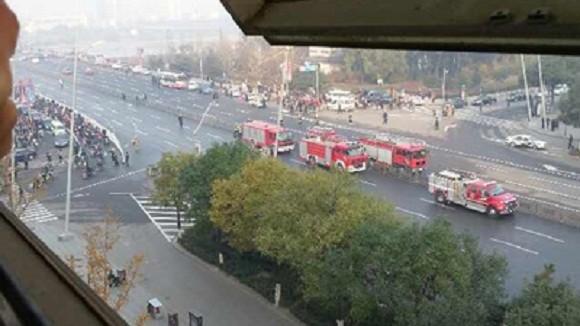 Xe bánh mì gây ra 7 vụ nổ trụ sở Tỉnh ủy Sơn Tây – Trung Quốc? ảnh 1