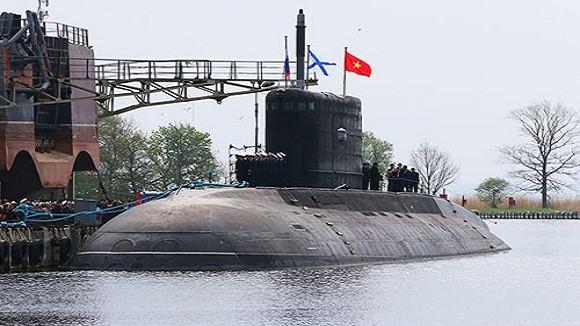 Nối gót HQ-182 Hà Nội, tầu ngầm Kilo Hồ Chí Minh về nước tháng 1-2014 ảnh 1