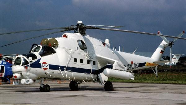 Iraq nhận lô trực thăng tấn công khủng Mi-35 đầu tiên ảnh 1
