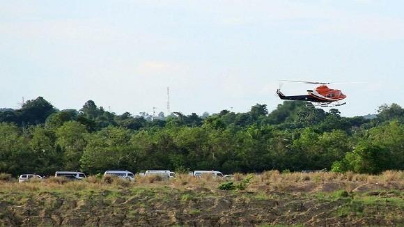 Trực thăng Mi-17 Indonesia rơi, 13 người thiệt mạng ảnh 1