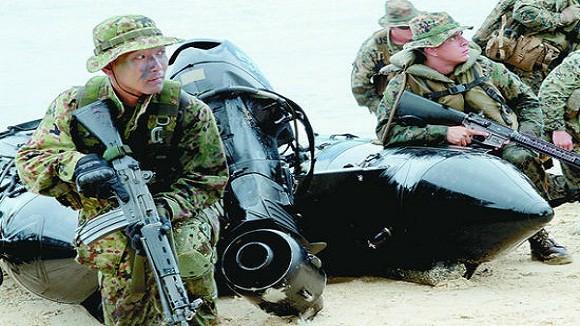 """Nhật """"lách luật"""", thành lập binh chủng hải quân đánh bộ ảnh 2"""
