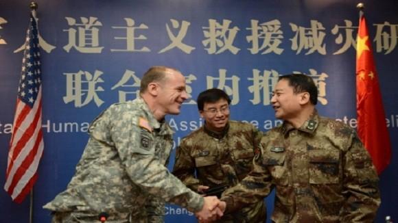 Lục quân Mỹ và Trung Quốc diễn tập tại Hawaii ảnh 1