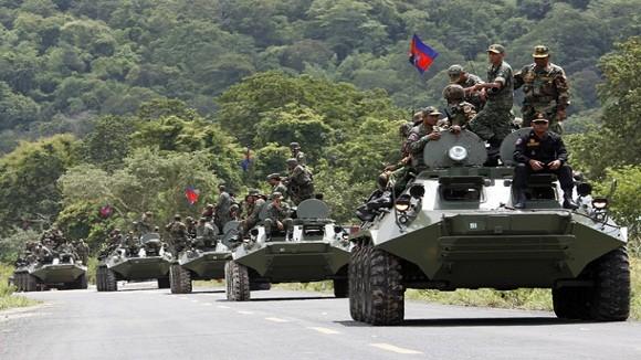 Campuchia tăng ngân sách quốc phòng lên 468 triệu USD ảnh 1