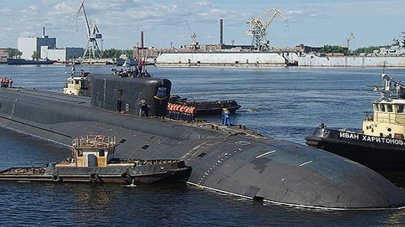 """Nga sắp đóng """"sát thủ dưới đáy đại dương"""" thứ 5, lớp Borey ảnh 1"""