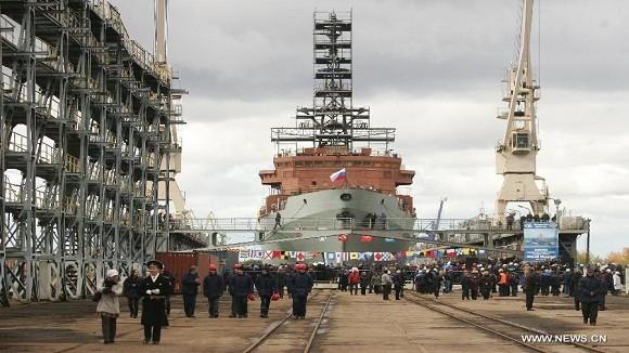 Nga khởi đóng đồng loạt 2 siêu hạm cho Hải quân ảnh 1