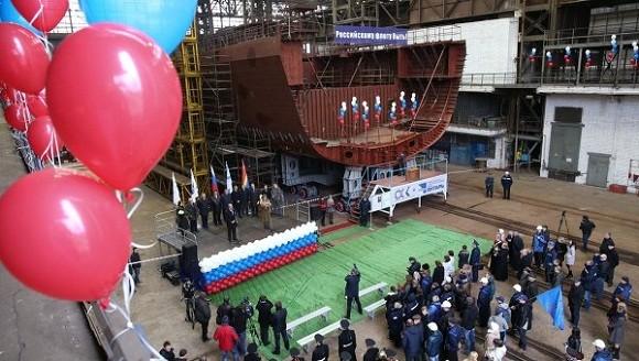 Nga khởi đóng khinh hạm lớp Grigorovich thứ 5 ảnh 1