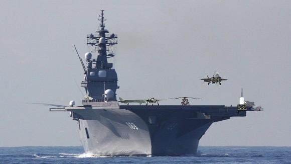 Trung Quốc quyết không chịu kém Nhật về tàu sân bay trực thăng ảnh 1