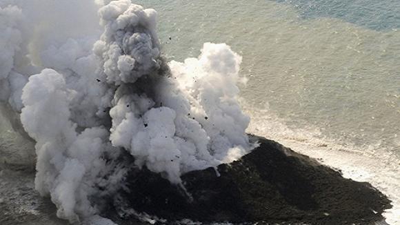 Nhật Bản tự nhiên có thêm đảo mới là quả núi lửa ảnh 1