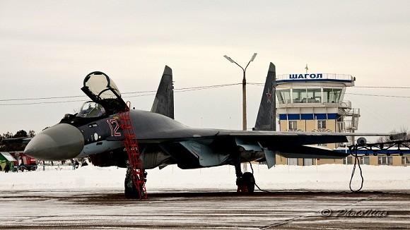 """Ngắm dàn siêu chiến đấu cơ """"Cà bay"""" của Nga ảnh 7"""