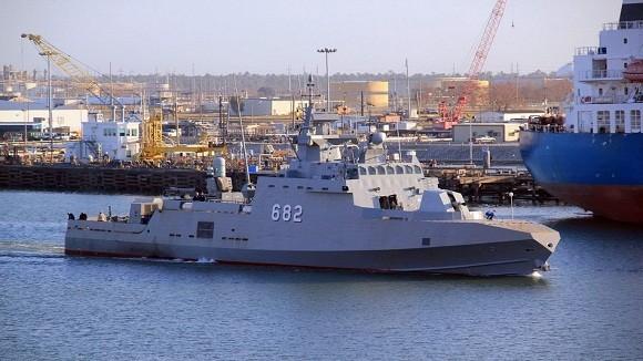 Mỹ bàn giao siêu tàu tên lửa cao tốc cho Ai Cập ảnh 1