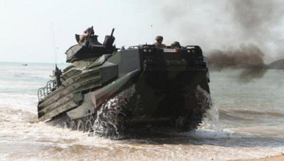 Đài Loan chi mạnh sắm 36 xe thiết giáp đổ bộ AAV-7 của Mỹ ảnh 1