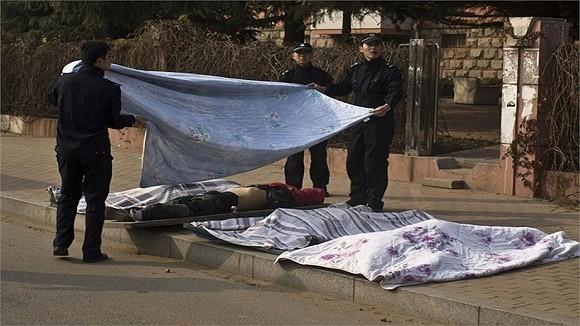 Hình ảnh vụ nổ như bị ném bom rải thảm ở Thanh Đảo - Trung Quốc ảnh 6