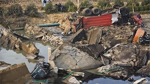 Hình ảnh vụ nổ như bị ném bom rải thảm ở Thanh Đảo - Trung Quốc ảnh 2