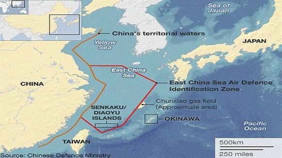 """Mỹ, Nhật kịch liệt phản đối """"Vùng nhận dạng phòng không"""" của Trung Quốc ảnh 1"""