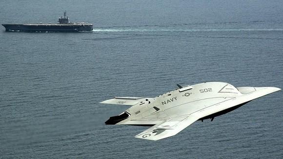 X-47B hình thành khả năng tác chiến siêu hạng ảnh 1