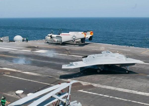 X-47B hình thành khả năng tác chiến siêu hạng ảnh 2