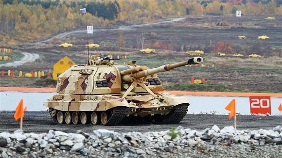 Các biến thể siêu hạng trên khung gầm xe tăng Nga ảnh 2