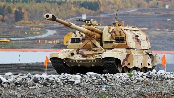 Các biến thể siêu hạng trên khung gầm xe tăng Nga ảnh 1