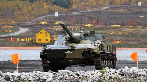 Các biến thể siêu hạng trên khung gầm xe tăng Nga ảnh 10