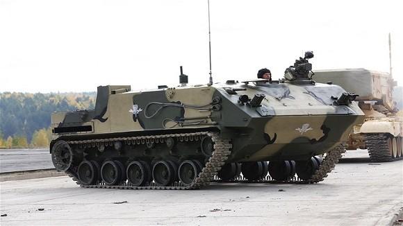 Các biến thể siêu hạng trên khung gầm xe tăng Nga ảnh 9