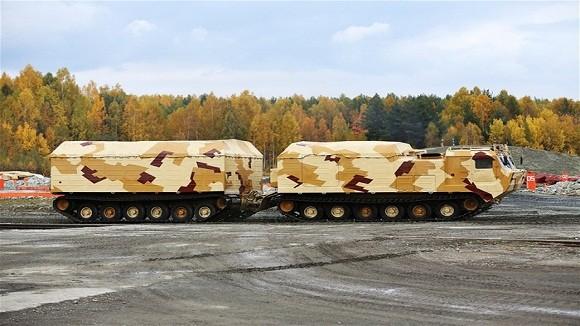 Các biến thể siêu hạng trên khung gầm xe tăng Nga ảnh 7
