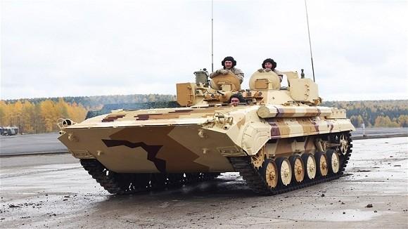 Các biến thể siêu hạng trên khung gầm xe tăng Nga ảnh 8