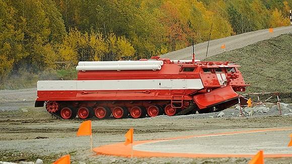 Các biến thể siêu hạng trên khung gầm xe tăng Nga ảnh 3