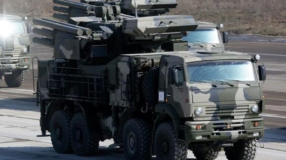 Nga biên chế 6 hệ thống phòng không Pantsir-S bảo vệ Moscow ảnh 1