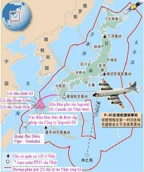 """Trung Quốc tố Nhật """"bê"""" ADIZ tận cửa Trung Quốc, """"nuốt"""" mỏ dầu Xuân Hiểu ảnh 1"""